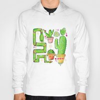 green pattern Hoodies featuring Green by Grace Sandford