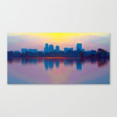 Come Sit With Me At Sloan Lake Canvas Print