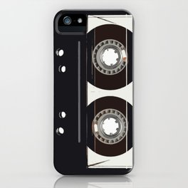 retro old tapes iPhone Case