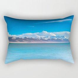 blue landscape #society6 #decor #buyart Rectangular Pillow