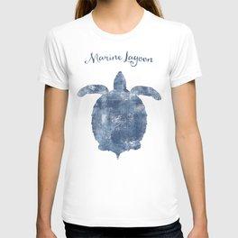 Turtle Marine Lagoon habitat T-shirt