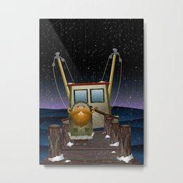 The Work of Saphron Burrows Metal Print