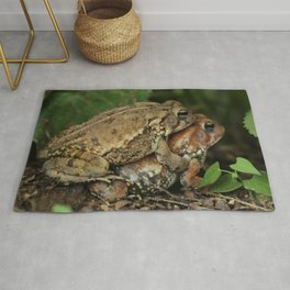 Toadally in Love Rug