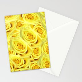 Candlelight Roses Stationery Cards