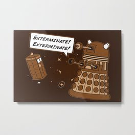 Exterminate! Metal Print