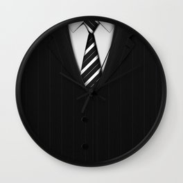 Exclusive Suits Wall Clock
