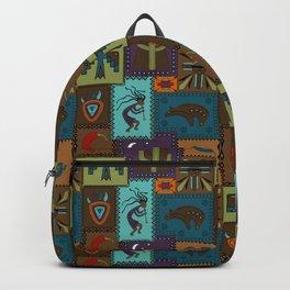 Southwest Patchwork Backpack