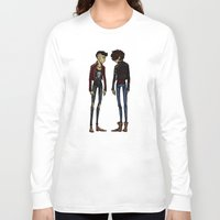 cargline Long Sleeve T-shirts featuring punk zayn and harry by cargline