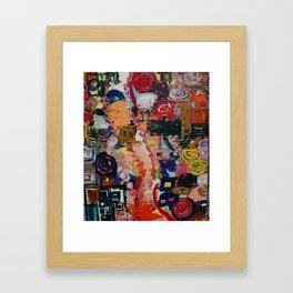 a first.  Framed Art Print