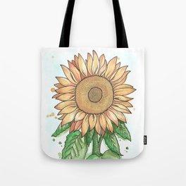 Cheerful Sunflower Tote Bag