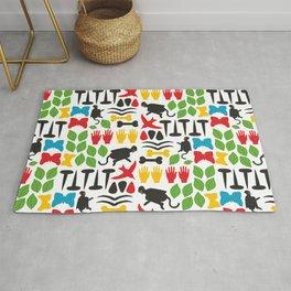 Frida Cutout Pattern Rug