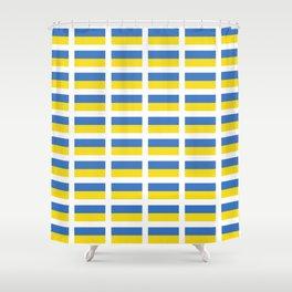 Flag of Ukraine -Ukrainian,Україна, Ucrania,kiev,sevastopol Shower Curtain