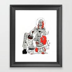 Mamas Lil Monster Framed Art Print