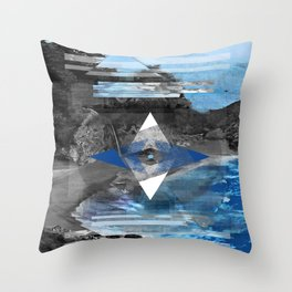 Lost. Throw Pillow