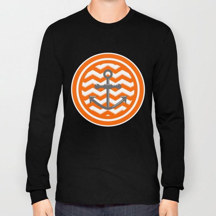 Chevron Anchor Long Sleeve T-shirt
