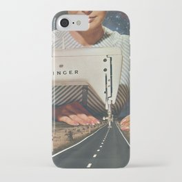 This is how a road gets made - Sewing Machine iPhone Case