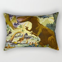 The Land Unknown, 1957 (Vintage Movie Poster) Rectangular Pillow