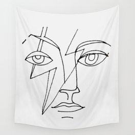 Bowie Picasso Wall Tapestry