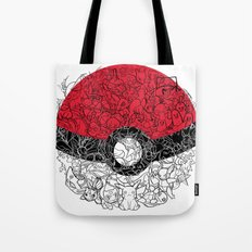 ONE BALL TO CATCH THEM ALL Tote Bag