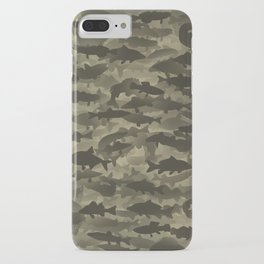 Fresh water fish camouflage iPhone Case