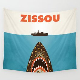 Zissou The Life Aquatic Wall Tapestry