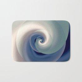 whirlwind abstract 3D digital art Bath Mat
