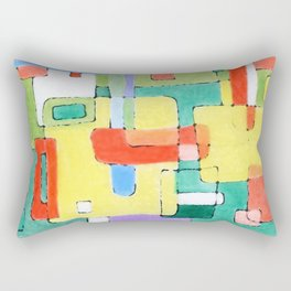 Cocktails in the City Rectangular Pillow
