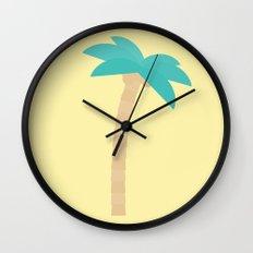 #99 Palm Tree Wall Clock