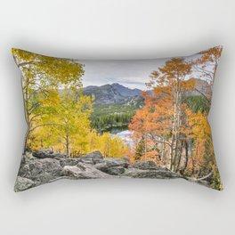 Rocky Mountain Fall Color. 9-22-15  Rectangular Pillow