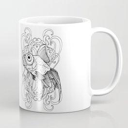 Rising Goldfish Coffee Mug