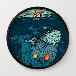 The Ocean Universe Wall Clock