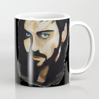 hook Mugs featuring Hook by Brittany Ketcham