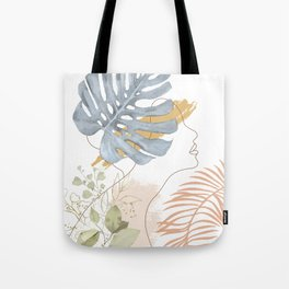 Line in Nature III Tote Bag