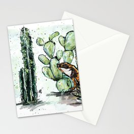 Cactus Horizontal Stationery Cards