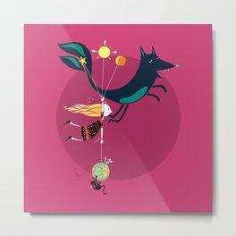 The Balloons family Metal Print