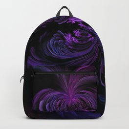 Ombre Butterfly Girly Goth Insect Art Backpack
