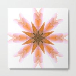 Pastel star Metal Print