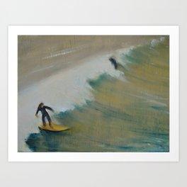 Surf San Diego Art Print