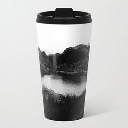 Fairy Glen, Isle of Skye, B/W Travel Mug
