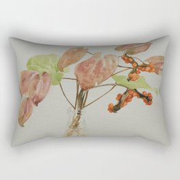 Autumn leaves in a bottle Rectangular Pillow