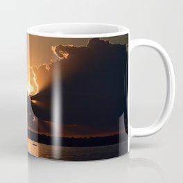 Fisherman Sunset Coffee Mug