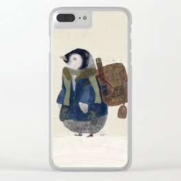 the little explorer Clear iPhone Case