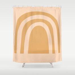 golden rainbow Shower Curtain