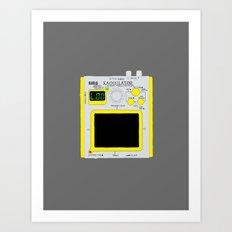 Korg Kaossilator Art Print