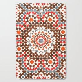 N64 - Traditional Geometric Moroccan Vintage Style Artwork Cutting Board