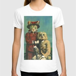 The Owl And The Pussy Cat T-shirt