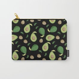 Avocado gen z fashion apparel food fight gifts black Carry-All Pouch