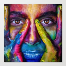 Colorful Sight Canvas Print