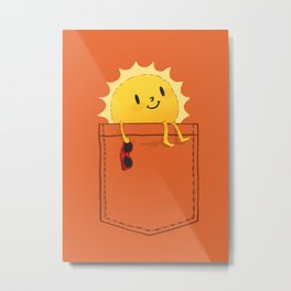 Pocketful of sunshine Metal Print