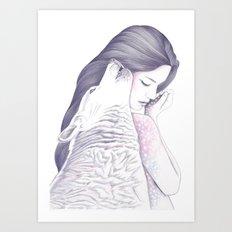 Twin Souls Art Print